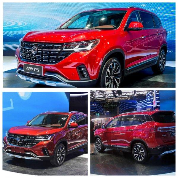 Dongfeng открыл предзаказы на новый кроссовер Forthing T5