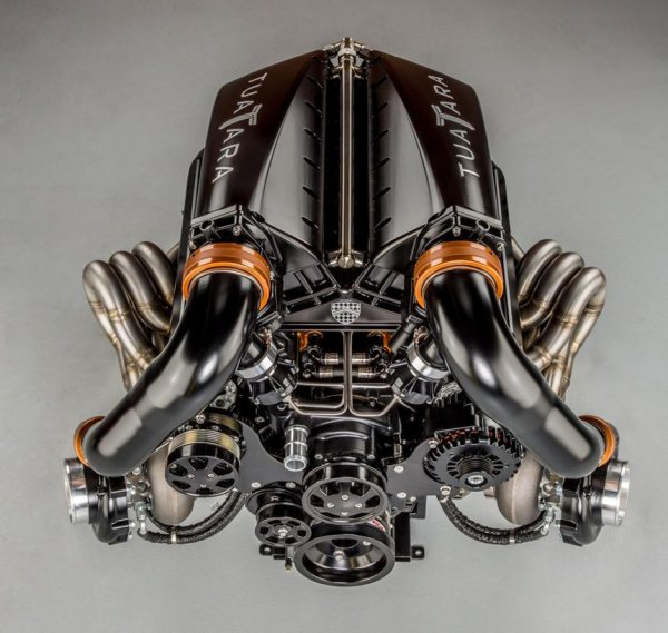 SSC показала на фото 1350-сильный мотор V8 гиперкара SSC Tuatara?