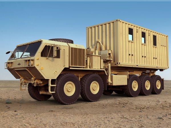 К 2020 году американская армия получит пилотируемые беспилотные автоколонны