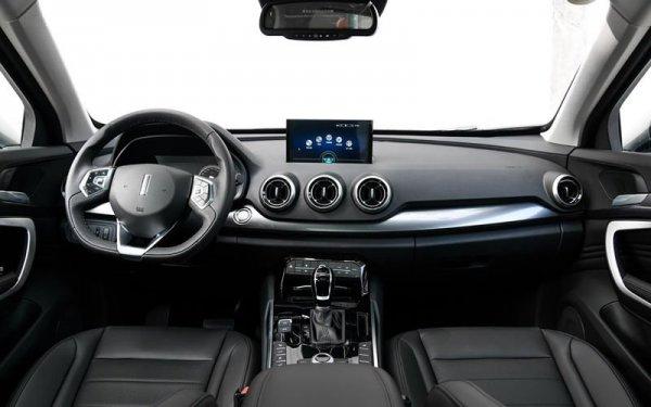 Роскошное кросс-купе WEY VV7 GT рассекретили на «живых» фото