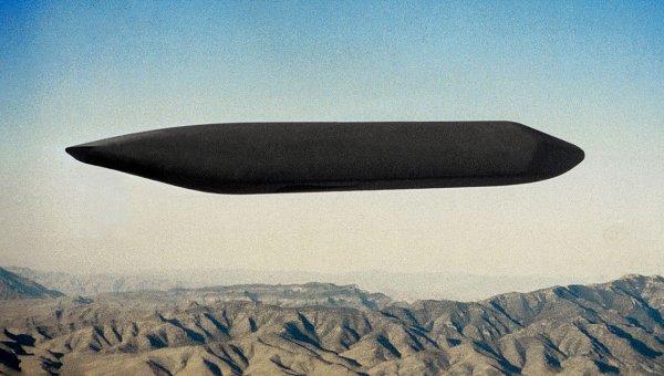 Американские уфологи обнаружили НЛО в виде космического червя
