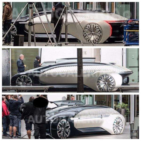 Необычный кроссовер Renault «из будущего» сфотографировали в Варшаве