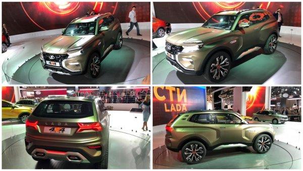 В Москве представили «Ниву» нового поколения - LADA 4x4 Vision