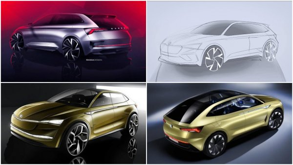 Skoda представит в Париже предвестника будущих спортивных моделей