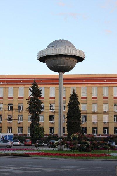 В Воронеже на Университетской площади заменят «Чупа-чупс»
