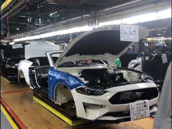 В сети опубликовали уникальный снимок 10-миллионного Ford Mustang