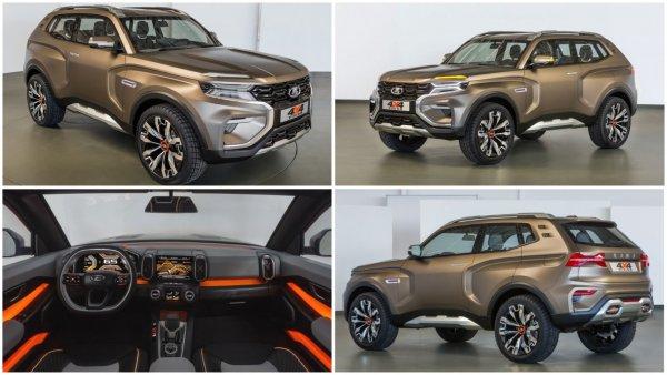 Новая LADA 4x4 окажется дешевле Renault Duster