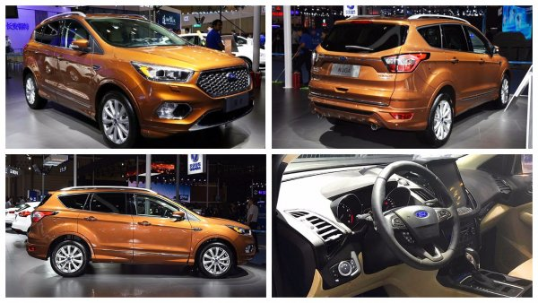 Ford представил в Чэнду обновленный кроссовер Ford Kuga