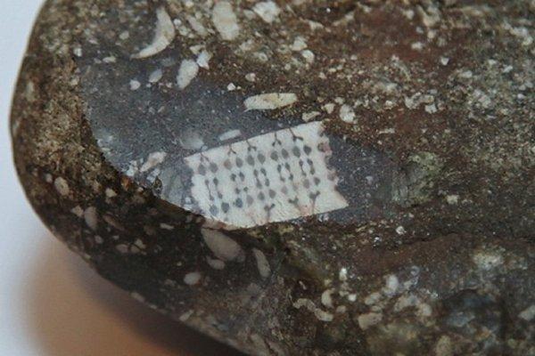 Уфологи из Краснодарского края показали старинный камень с «микрочипом»