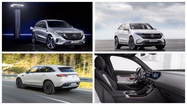 Mercedes-Benz представил первый электрический кроссовер Mercedes-Benz EQC