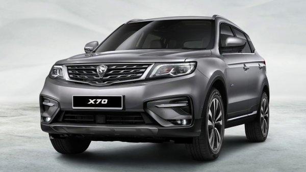 В Малайзии представлен кроссовер Proton X70