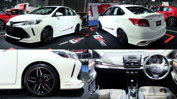 На рынок вышла спецверсия седана Toyota Vios GT Street