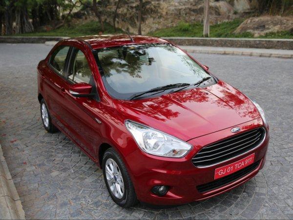 Бюджетный седан Ford Aspire получил обновлённую версию