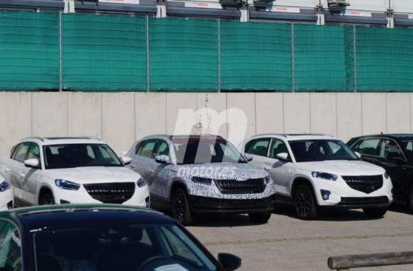 Купеобразный кроссовер Skoda Kodiaq GT доберётся до Европы