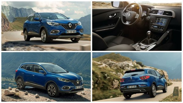 Renault представила обновлённый кроссовер Kadjar