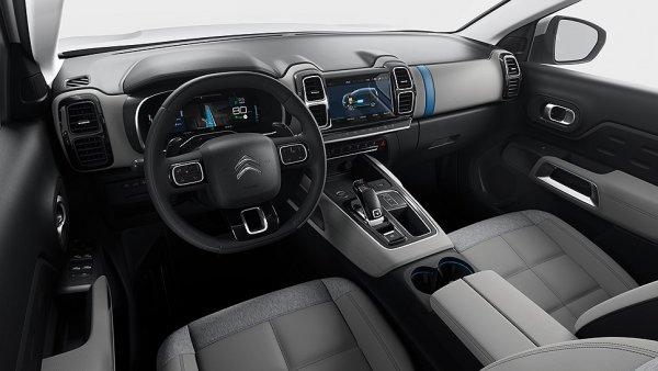 Citroen представит в Париже гибридный кроссовер C5 Aircross Hybrid