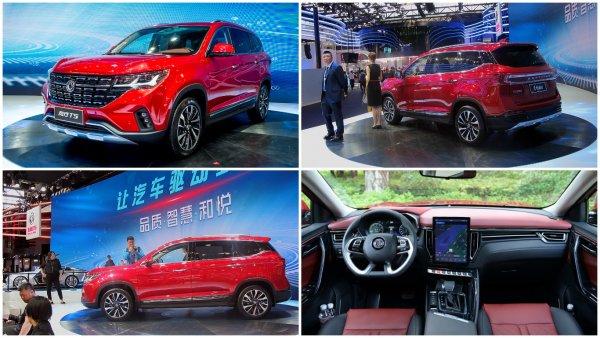 В Китае стартовали продажи нового кроссовера Dongfeng T5 с дизайном VW Touareg