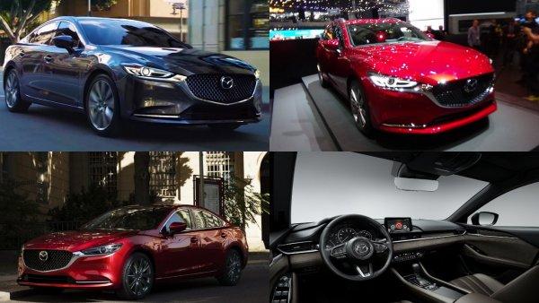 Обновленный седан Mazda 6 появится в России в первой половине 2019 года