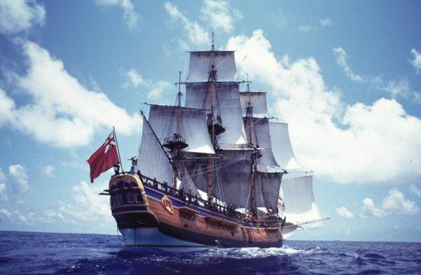 Морские археологи обнаружили затонувший 240 лет назад корабль Джеймса Кука