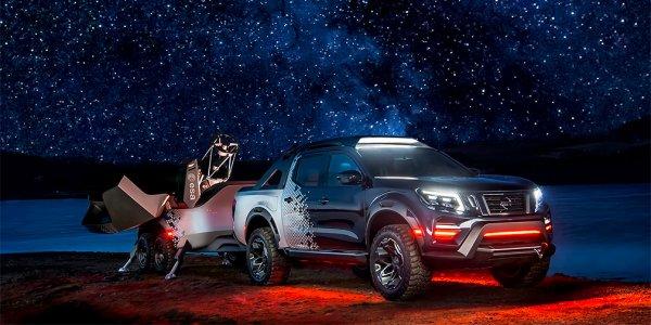 Nissan представил спецверсию пикапа Navara для астрономов