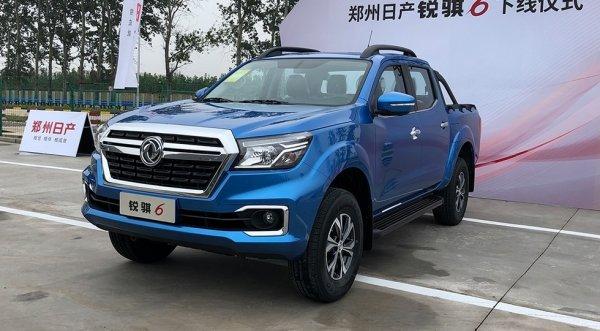 Dongfeng запустил производство пикапа на базе Nissan Navara и Mercedes X-Class