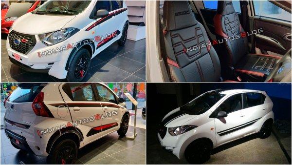 Кросс-хэтчбек Datsun redi-GO получил спецверсию Limited Edition