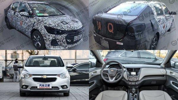 General Motors обновил бюджетный седан Chevrolet Sail для Китая