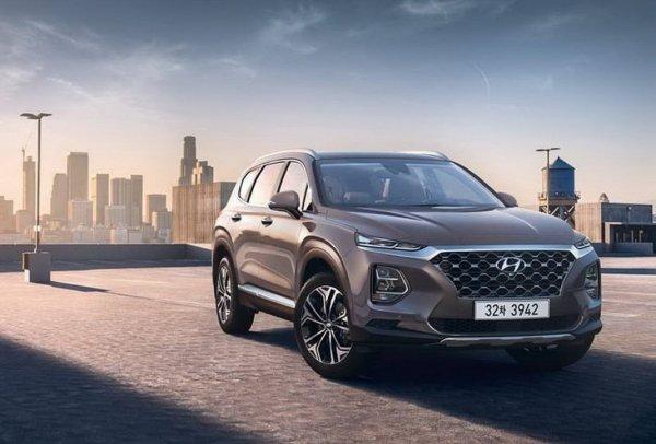 Hyundai Santa Fe возглавил ТОП-3 кроссовера на рынке России до 2 млн рублей