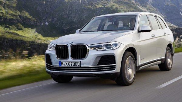 Салон серийного BMW X7 рассекречен до премьеры