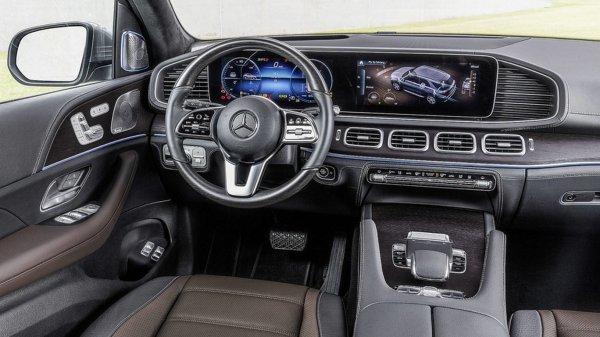 Новый кроссовер Mercedes-Benz GLE появится в России в начале 2019 года