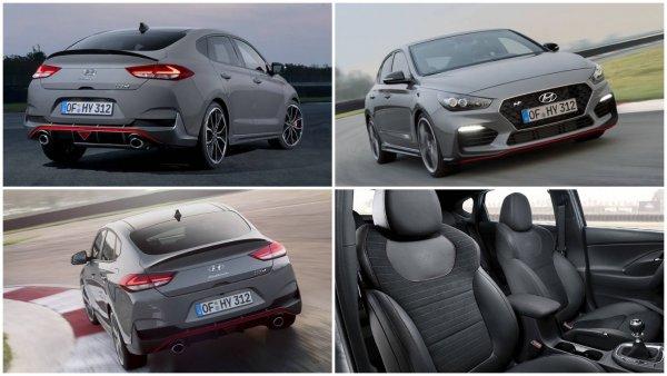 Hyundai показала 275-сильный «заряженный» фастбек Hyundai i30 Fastback N?