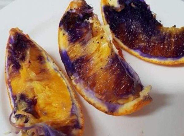 Учёные определили причину изменения цвета апельсина из-за свежезаточенного ножа