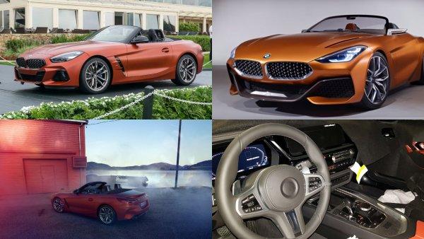 Озвучены российские цены на родстер BMW Z4 новой генерации