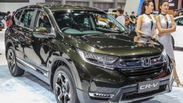В Европу приехал обновленный гибридный кроссовер Honda CR-V