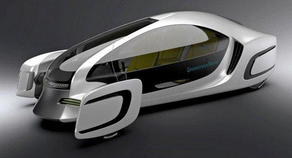 В Японии представлен первый автомобиль из пластмассы