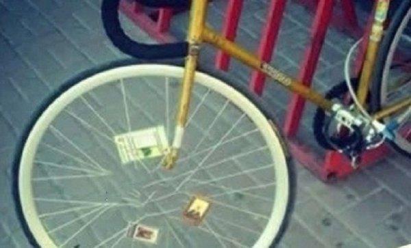В Сети раскритиковали «религиозный» велосипед ростовчанина