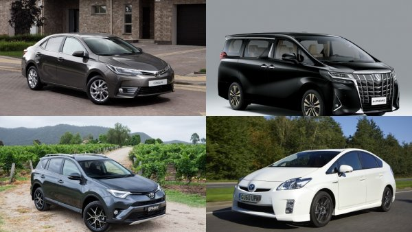 В России подорожали автомобили Toyota
