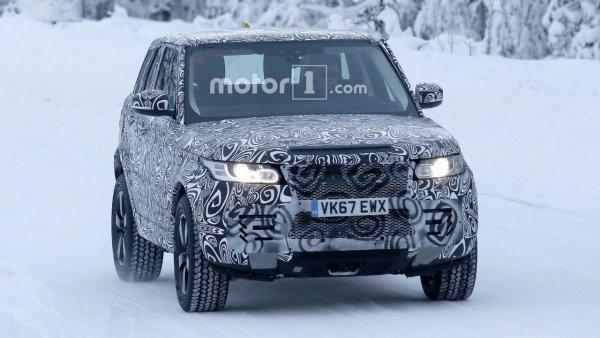 В сеть слили шпионские фото нового внедорожника Land Rover Defender