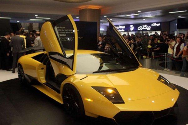 В Иране построили точный клон Lamborghini Murcielago SV