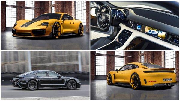 Новый электрокар Porsche Taycan окажется дешевле, чем ожидалось