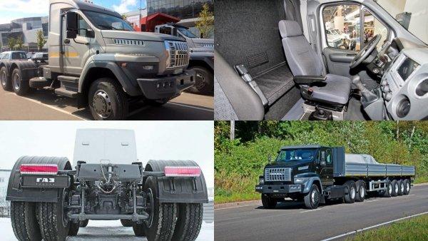 Завод «Урал» занялся производством дорожных грузовиков