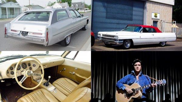 На торги выставлен Cadillac Элвиса Пресли