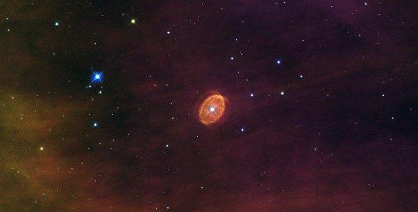 Ученые открыли маленькую галактику-каннибала
