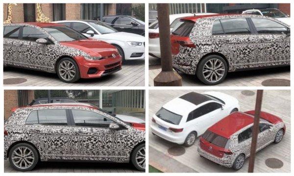 Volkswagen вывел на тесты новое поколение хэтчбэка Golf GTI в Китае