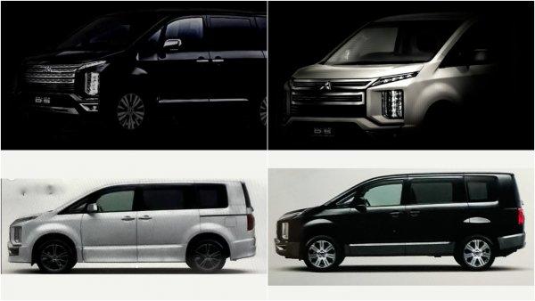 Новый компактвэн Mitsubishi Delica рассекретили в сети
