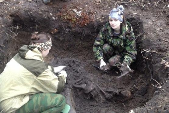 В этом сезоне тюменцы подняли останки 264 бойцов и командиров Красной Армии