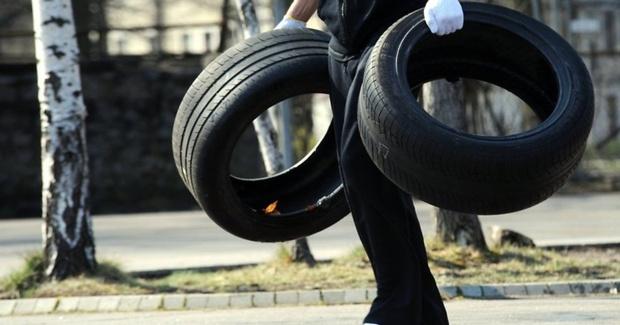 В Тюмени начался сезон краж автомобильных шин