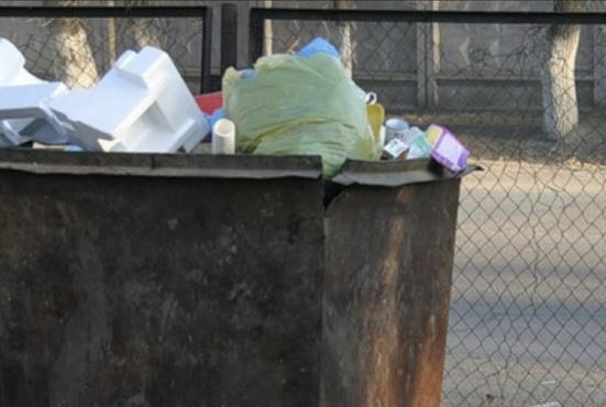 Бомж обнаружил в мусорном баке живую новорожденную девочку