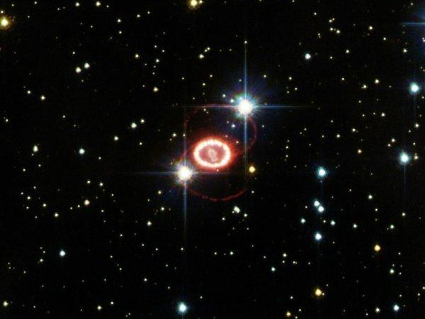 Астрономы записали на видео 25 лет жизни сверхновой звезды