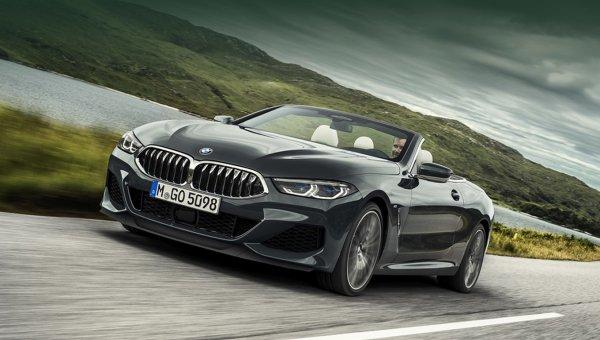 Новый BMW 8-Series Cabrio официально показан и появится в России
